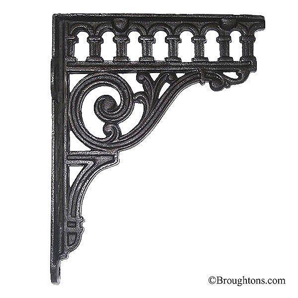 Railway Arch Shelf Bracket Iron