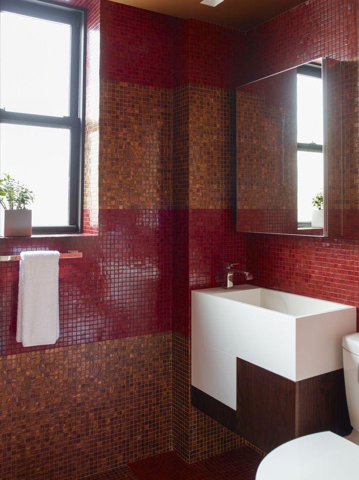 Red and Burnt Orange Stripes - ELLEDecor.com