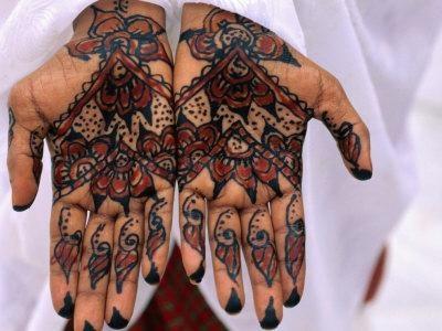 Berber Tunisian Mehndi Henna Tattoos by Rainer