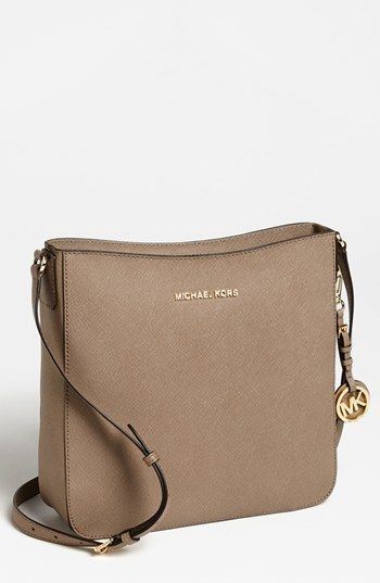 a597b4132a42 MICHAEL Michael Kors 'Jet Set - Large' Crossbody Bag available at #Nordstrom