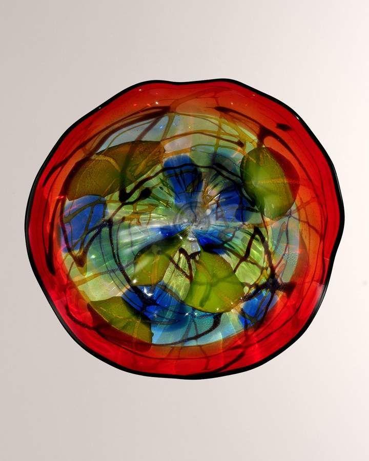 Dale Tiffany Hankley Art Glass Sculpture 16 Blown Glass Wall Art Glass Wall Art Glass Art Projects