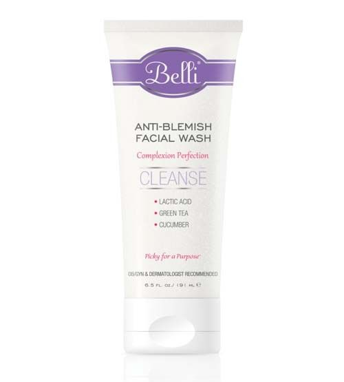 Belli Face Wash: Acne is the most common skin complaint during pregnancy, thanks to the influx of hormones your body faces during pregnancy. But the typical acne-fighting ingredients you used before you got pregnant are no longer safe when you're with child. Products containing tea tree oil, sulfur or lactic acid are a baby safe alternative. We've got a bunch of other pregnancy-friendly beauty products, and a chance to #win your own on the blog: blog.guguguru.com