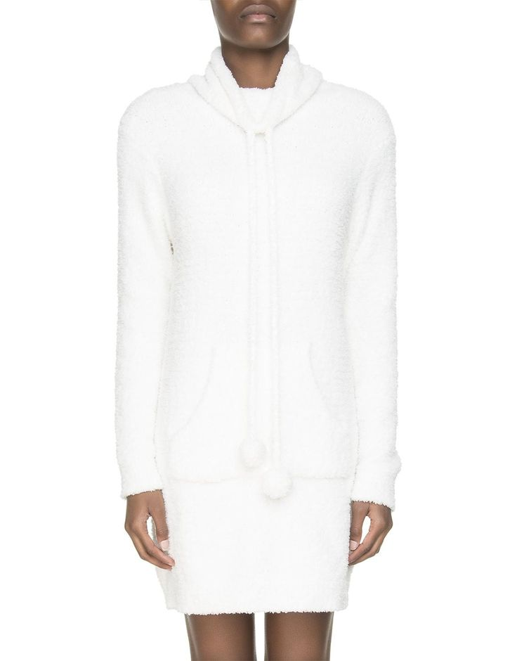 Warm and snug as a bug in this fleece nightdress