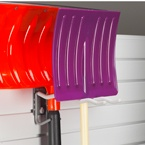 Keep seasonal items out of the way - shovel storage with a Tool Hook.