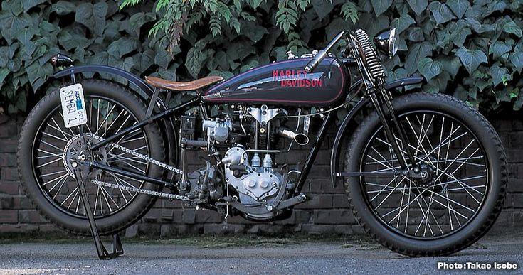 Harley Davidson 1928 28b 350cc 1 Cyl Sv: Harley-Davidson 1928 BA350 PEASHOOTER STREET