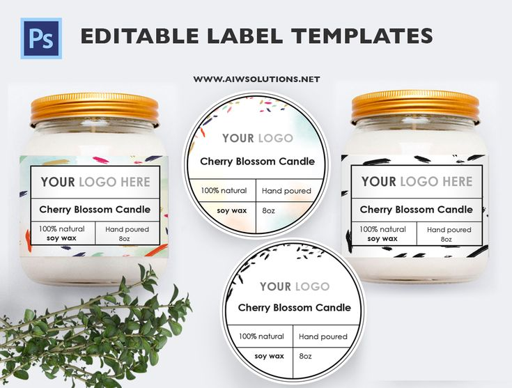 34 best Label Design images on Pinterest Label templates, Candle - product label template