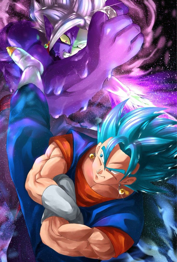 Zamasu fusion vs Vegito