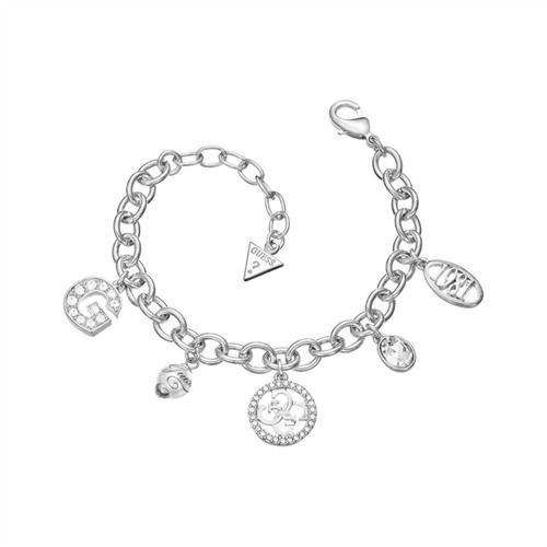 Silbernes Guess Armband Zirkonia Perle UBB51410 http://www.thejewellershop.com/ #guess #zirkonia #kette #chain #jewelry