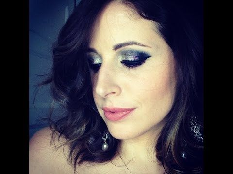 ▶ Makeup Tutorial Trucco VIOLA Metallico SILVER - YouTube