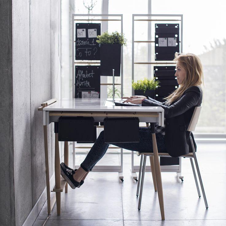 desk concept | HomeOffice | Design, architektura i architektura wnętrz | Wrocław | troomono | fot.Agata Piatkowska
