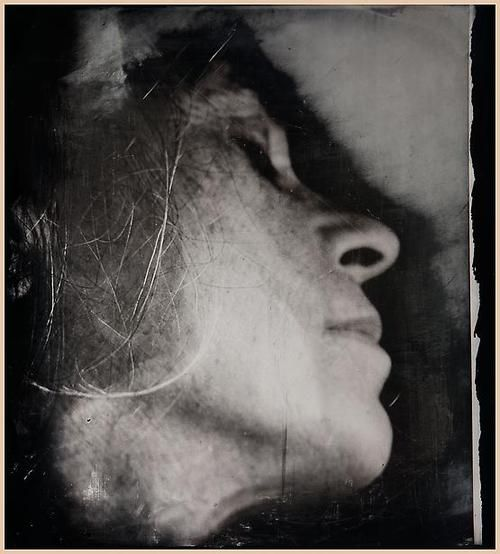 Sally Mann :: Untitled [Self-Portrait], 2006-2012 collodion process