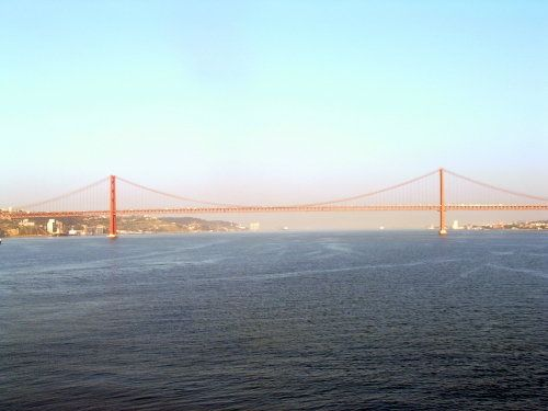 Lisbon, Portugal - 25th of April Suspension Bridge - Lisbon Photo (c) Linda Garrison