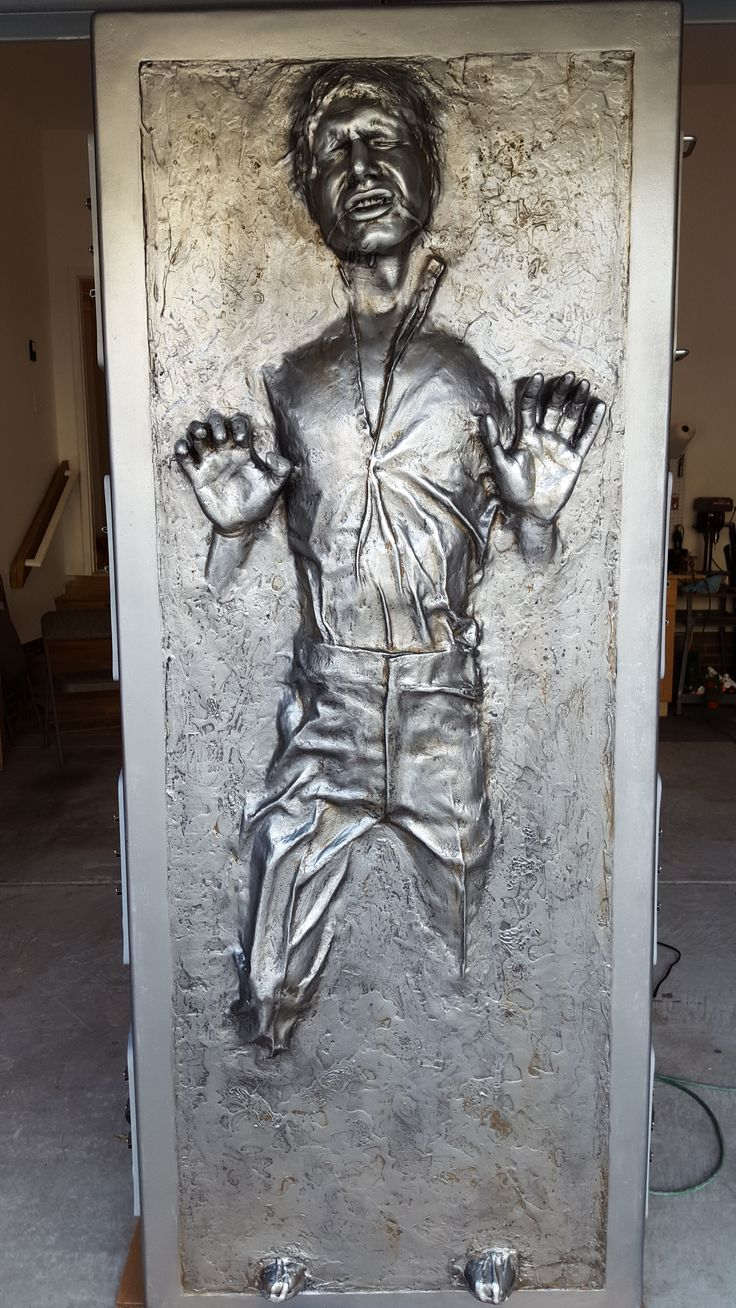 Han Solo in Carbonite Rapid Build, Low Cost RPF