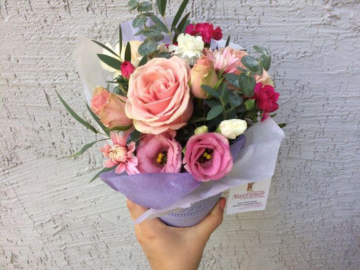 Цветы в Алматы. Цветочные композиции