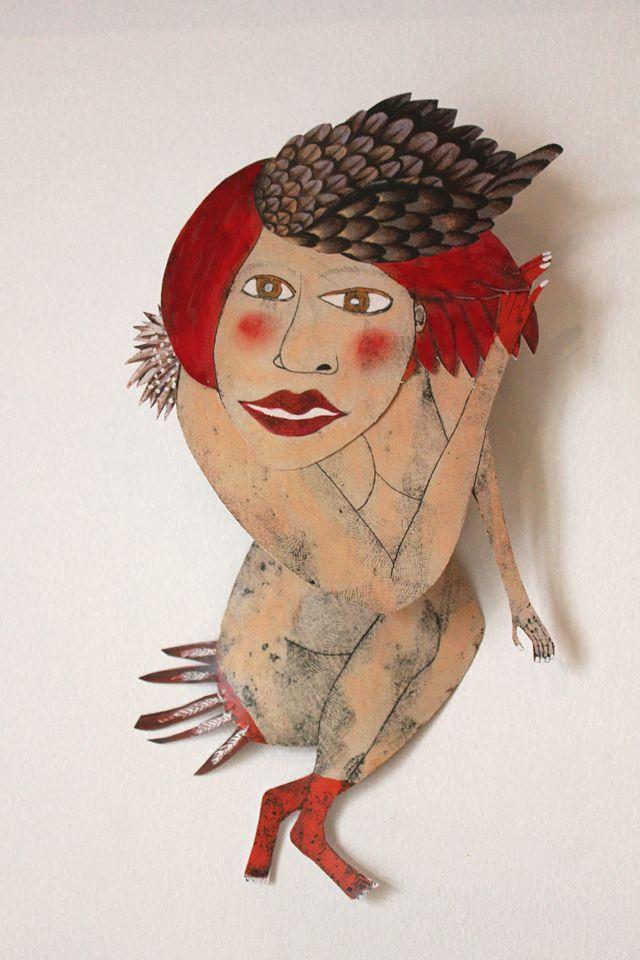 Maud Langlois -Papier,carton,mobiles, Gravures/illustration http://maudlanglois.wix.com/maudlanglois