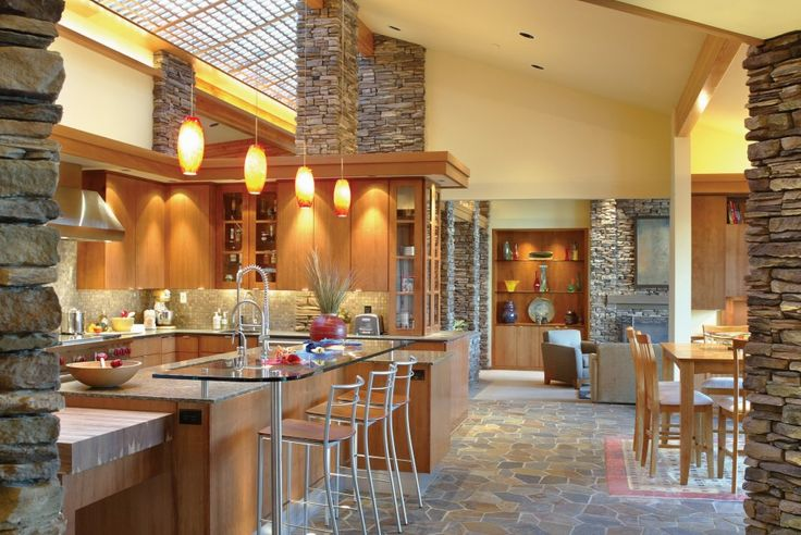 Fascinating Interior Kitchen Wood And Stone: Exciting Wood And Stone Houses  ~ Mutni.com Architecture Inspiration | Interior Design At Its Finest |  Pinterest ...