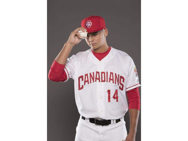 Maese amazes: Canadians pitcher had both baseball and football jerseys retired in high school