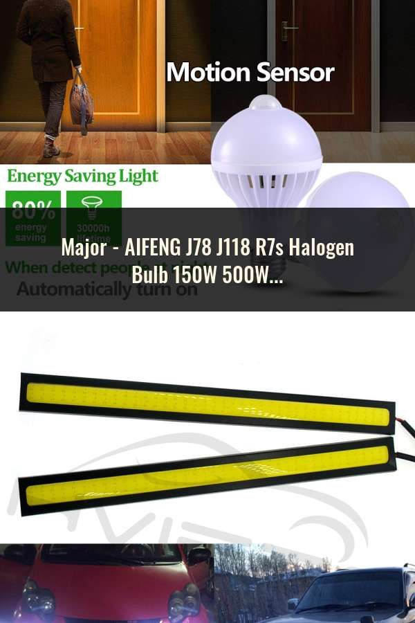 Aifeng J78 J118 R7s Halogen Bulb 150w 500w Halogen Lamp 78mm 118mm Double Ended Linear R7s Halogen Light Bulb Warm White Ac 220v