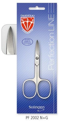3 Swords - nail scissor, nickel plated mat, Quality: Made in Solingen/Germany by 3 Swords. $10.95. Quality Standard: Made in Solingen/Germany. Package dimensions: 6,5 x 18 cm. Material steel implements: nickel plated mat. Packing: blister packing. nickel plated mat nail scissor. 3 Swords - nail scissor, nickel plated mat, Quality: Made in Solingen/GermanyContent: nail scissorPacking: blister packing3 Swords - flexible and innovative manufacturer of Manicure & Pedicure Prod...