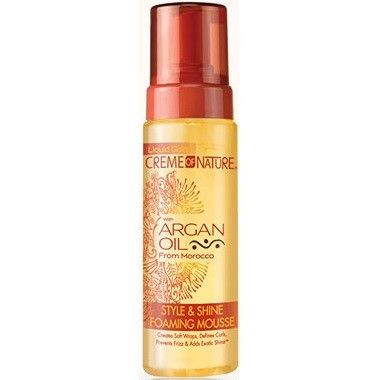 Creme of Nature Argan Oil Style & Shine Foaming Mousse 7 oz  $4.49   Visit www.BarberSalon.com One stop shopping for Professional Barber Supplies, Salon Supplies, Hair & Wigs, Professional Product. GUARANTEE LOW PRICES!!! #barbersupply #barbersupplies #salonsupply #salonsupplies #beautysupply #beautysupplies #barber #salon #hair #wig #deals #CremeofNature #ArganOil #StyleShine #Foaming #Mousse