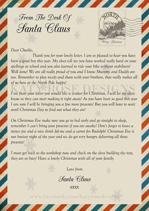 the 25 best personalised santa letter ideas on pinterest letter