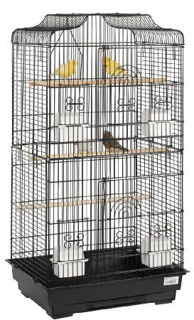 Amazon.com : Liberta UK 92 by 46 by 36cm Lotus Bird Cage, Large : Birdcages : Pet Supplies