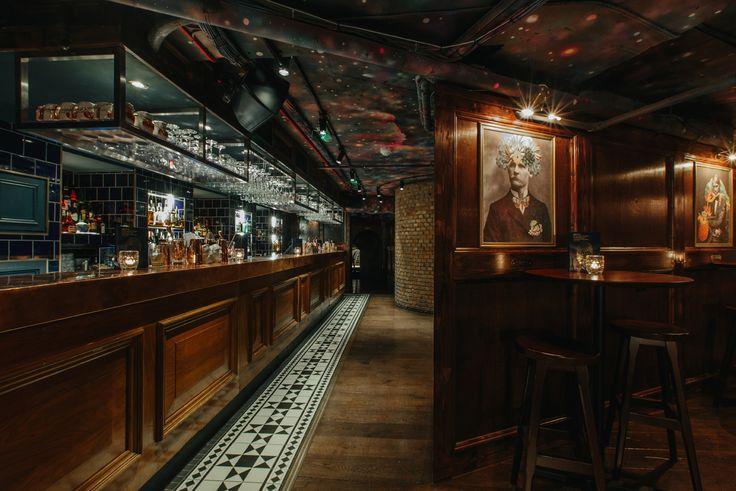 The Escapologist Cocktail Bar. Covent Garden. London.