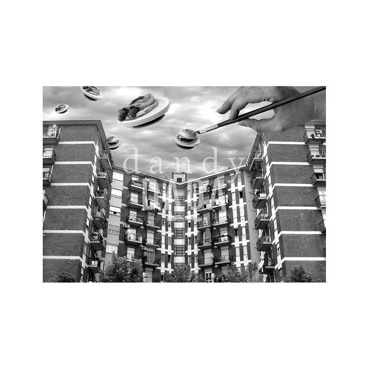 """Sandwitch Invasion """"Not an Ordinary City"""" è un progetto fotografico surreale - concettuale. E' un susseguirsi di metamorfosi creative di urban landscape; la collezione conserva un forte aspetto pittorico che va oltre l'illusionismo fotografico, riuscendo a colmare la distanza che separa la realtà dall'immaginazione."""