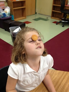 Hilarious brain break games, including this one where students have to get a cookie from their forehead into their mouth by only moving their facial muscles (no hands!). There are other cute ideas for things to do on the last day of school.