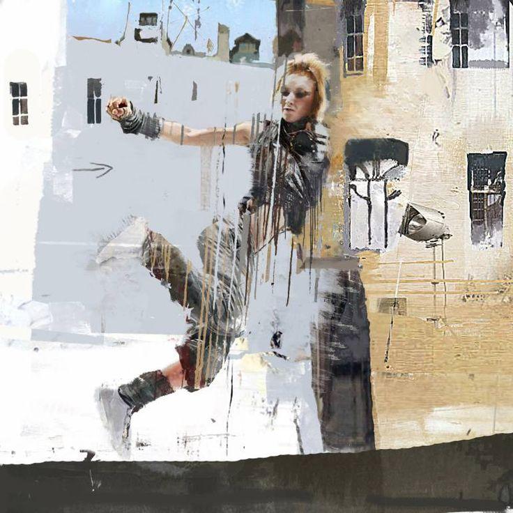 "Saatchi Art Artist Serj Fedulov; Painting, ""From the series Street Survivors 5"" #art"