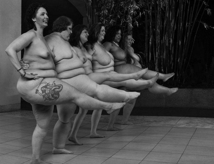 Леонард Нимой отстаивал полных женщин через фотографии ню - 8