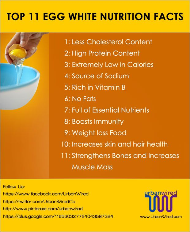 Top 11 Egg White Nutrition Facts You Should Know!  #EggFacts #EggNutritions