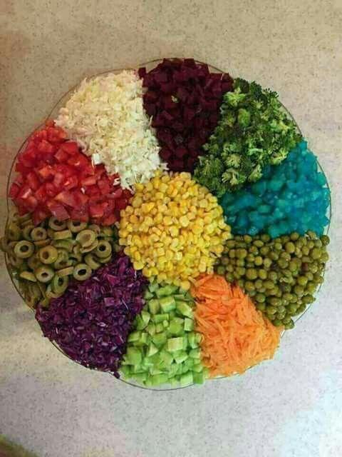 Salad 》》art of presentation 12 ♡ mizna♡
