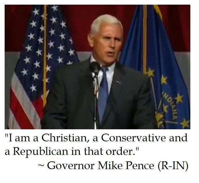 Gov. Mike Pence Characterizes Himself........LOVE THIS MAN......GREAT PICK TRUMP.........VOTE TRUMP PEOPLE.....I AM