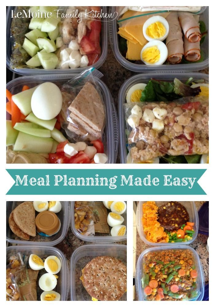 Meal planning made easy family kitchen lunch snacks and Easy dinner recipes for family of 6
