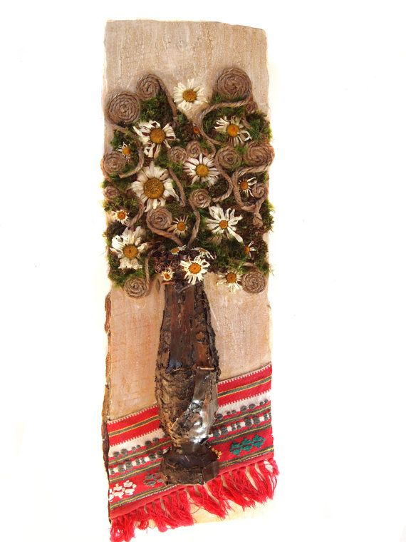 Natural materials collage/ assemblage by NaturalMaterialsArt, €90.00
