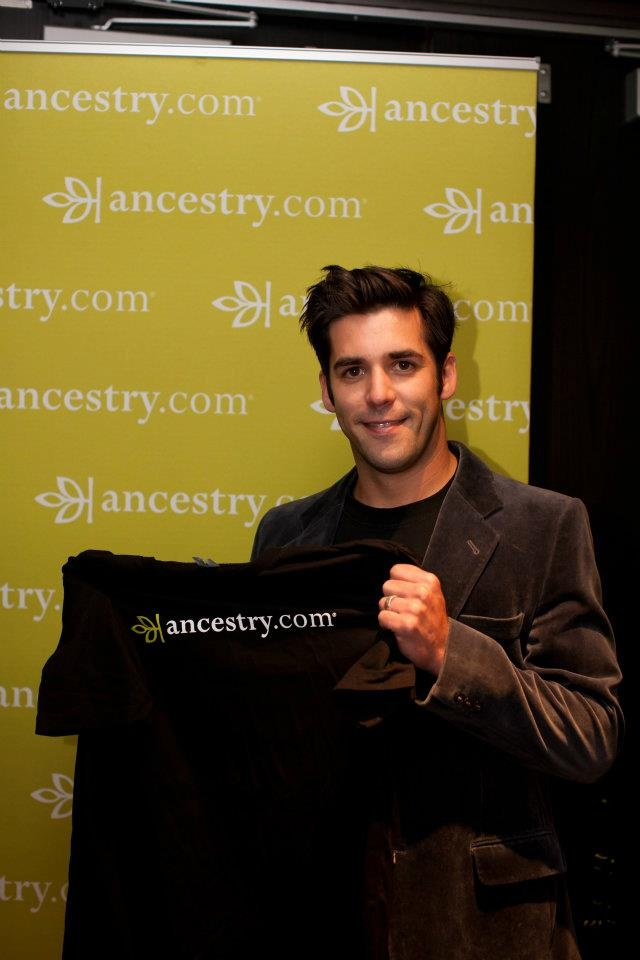 Jordan Bridges at the 2011 Emmy Awards    #ancestry #emmy