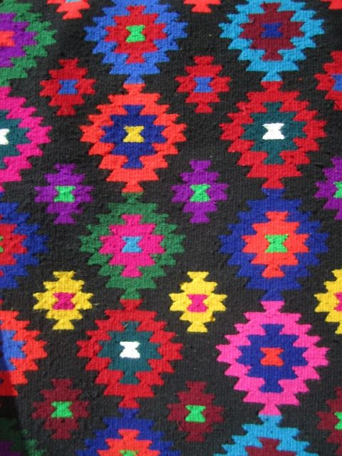 Traditional Maramures handmade rug, Romania. www.romaniasfriends.com/Sejours/Maramures. Europe's best kept secret