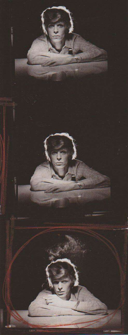 David Bowie - outtake from Young Americans photo session by Eric Stephen Jacobs, September 1974