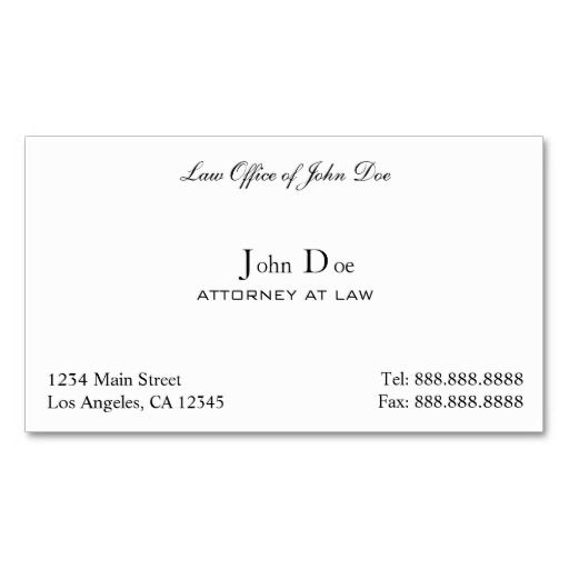 271 best Lawyer Business Cards images on Pinterest Card patterns - name card format