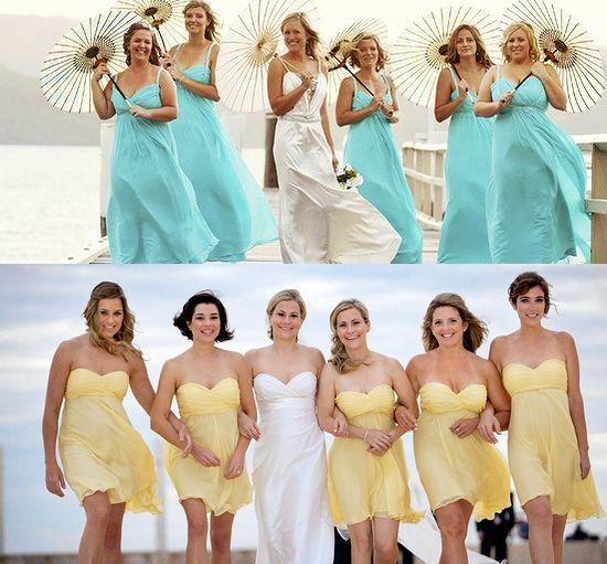 Idee originali matrimonio una sposa sirena al mare