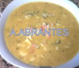 Sopa de Peixe Deliciosa na Bimby - Receitas Bimby