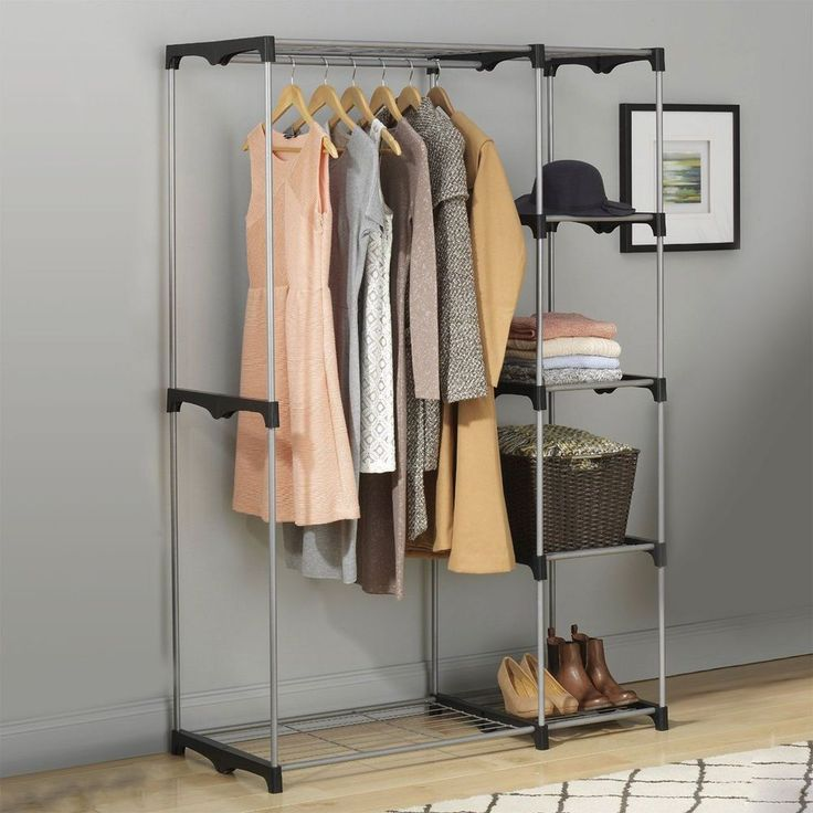 Best 25 freestanding closet ideas on pinterest wardrobe - Bedroom furniture for hanging clothes ...