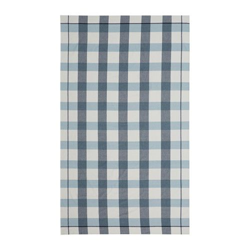 IKEA RUTIG Tablecloth - cute for your dining table.