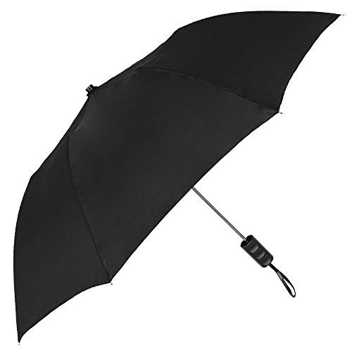 """StrombergBrand """"The Spectrum"""" Umbrella - Most Popular Style - Automatic Open, Compact QUALITY - Here at StrombergBrand, we manufacture our umbrellas to the highest standards and use the best materials available. This umbrella is designed for portability and great styling SIZE - A generous 42"""" arc (38"""" diameter), and a canopy that has 8 sections. Folds down to a 15"""" length, making it easy to take along with you when shopping, going to work, walking your dog, attending sporting"""