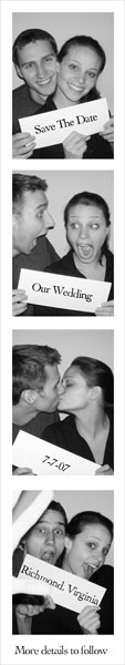 Who doesn't Love Photo Booths?! Great Idea!