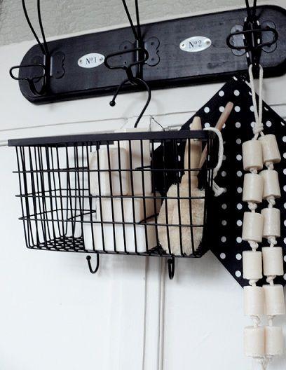 Hang your soaps en towels