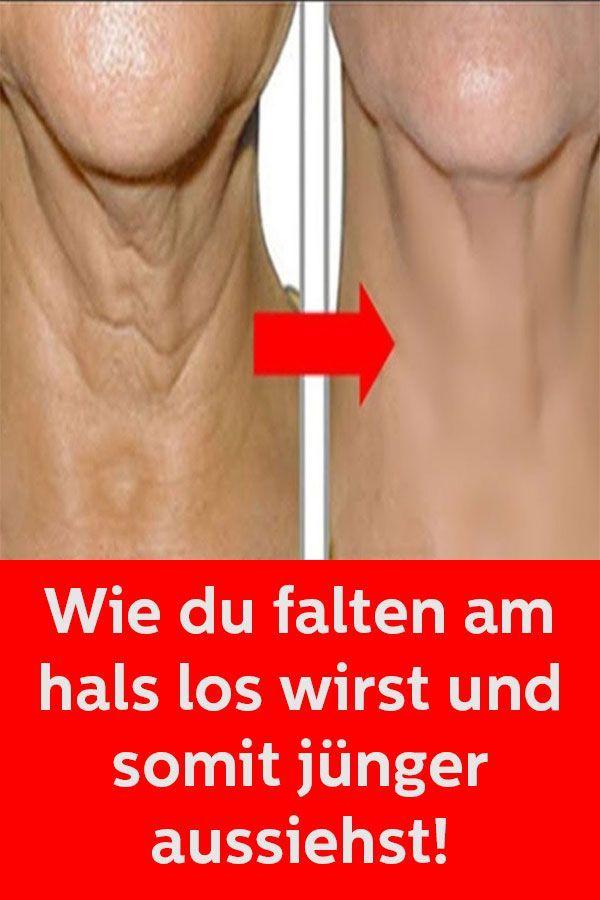 Wie du Falten am Hals los wirst und somit jünger aussiehst
