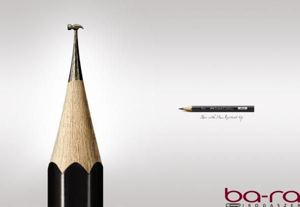 """Pencil """"hammer"""" by Faber-Castell."""