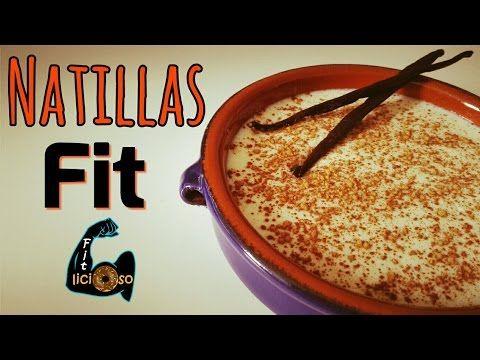 NATILLAS FIT (en microondas) | Recetas Fitness - YouTube